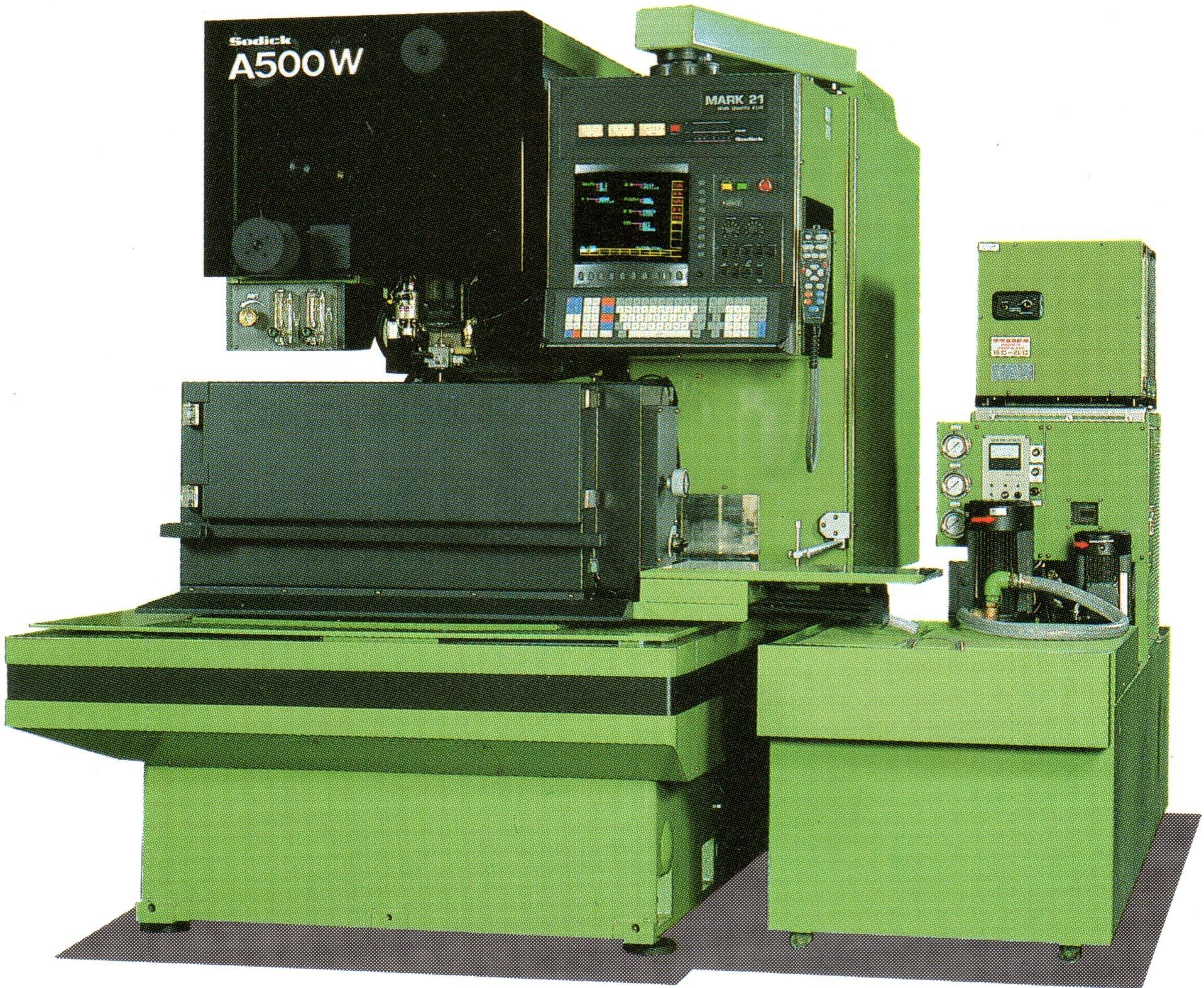 Sodick A500W AWT 5 axis WEDM MK25 Controller