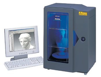 Roland LPX-250 3d laser scanner