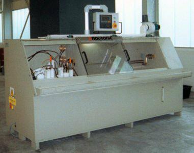 500 Amp Triple Station Electro Chemical Deburring Machine