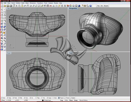 Rhino 3d CAD software